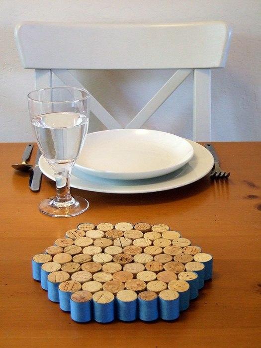 Подставка для горячих блюд. | Фото: sashe.sk.