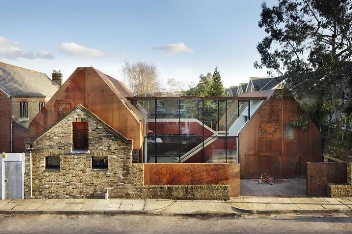 Kew House - дом викторианской эпохи, дополненный современными элементами.