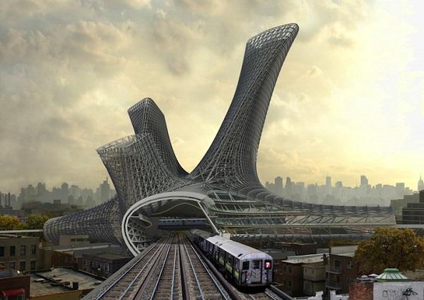 Концепт жилого комплекса Urban Alloy.