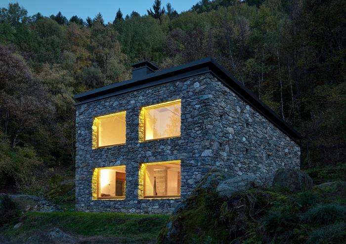 Casa Vi - домик в Альпах.