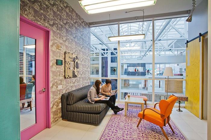 Офис компании Airbnb.