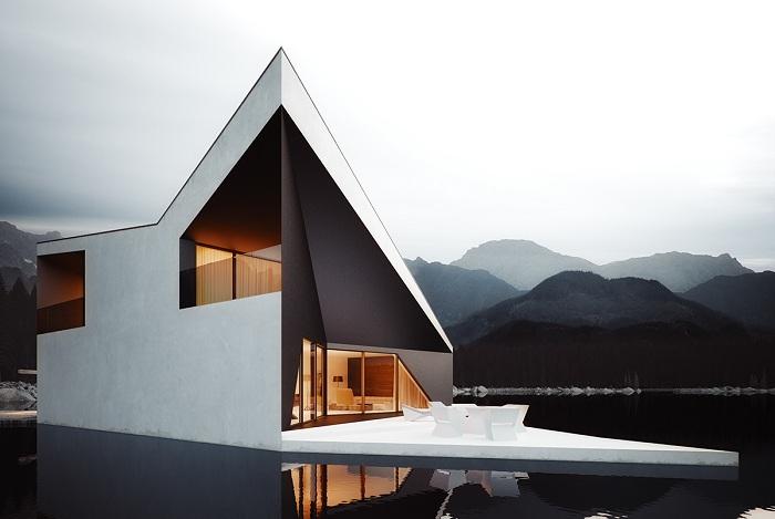 The Crown House - концепция дома, напоминающего футуристическую корону.