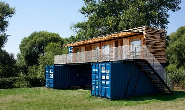 ContainHotel - эко-отель в Чехии.