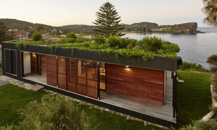 Avalon - модульный дом площадью 106 кв. метров.