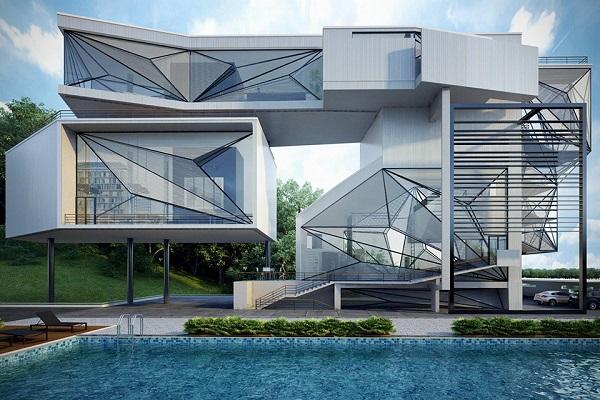 Aviator's villa - мечта летчика.