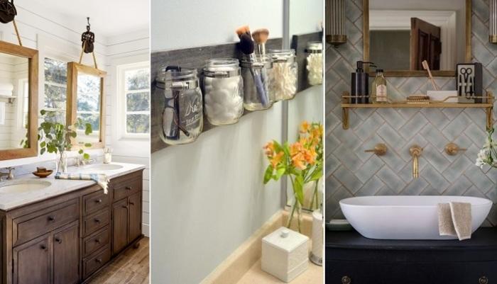 Идеи для современного дизайна ванной комнаты.