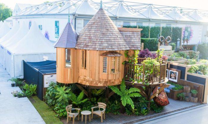 Очаровательный домик для отдыха.