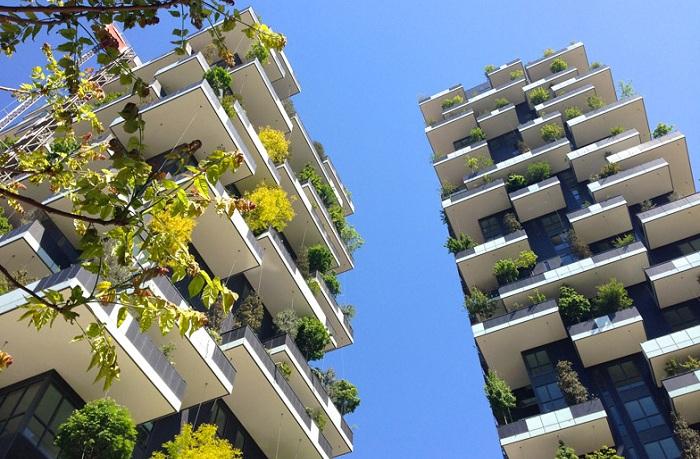 Проект итальянского архитектора Stefano Boeri.