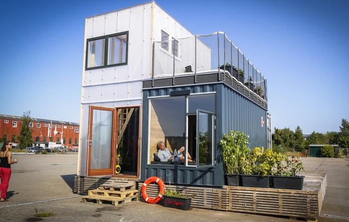 CPH Shelter - бюджетный дом из контейнеров.
