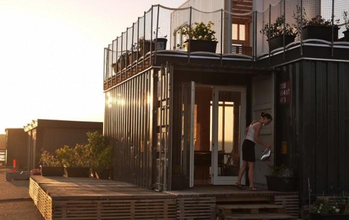 CPH Shelter - «плавучий дом на суше».