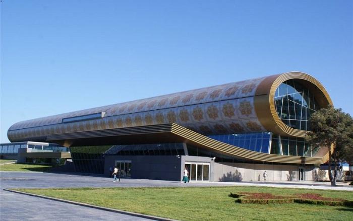 Музей ковров в Баку.