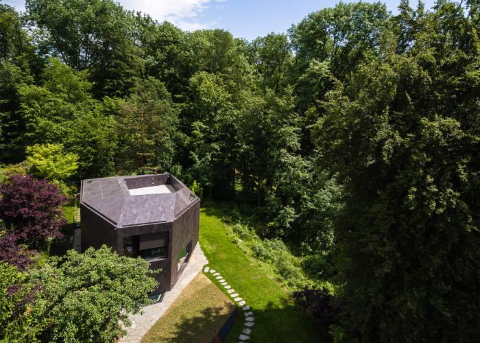 Casa Forest. Терраса на крыше.