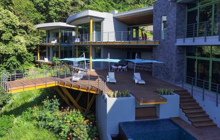Casa-Magayon - вилла в тропическом лесу.