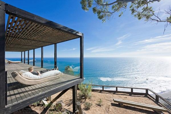 Вилла Casa Till, расположенная на берегу Тихого океана.