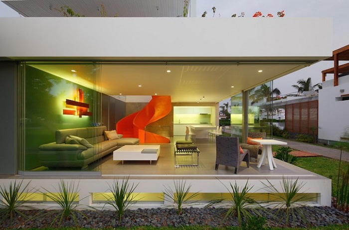 Casa Blanca. Проект архитектора Martin Dulanto Sangalli.