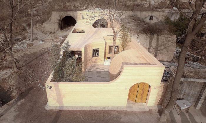 Проект реконструкции пещерного дома от китайского архитектора Shi Yang.