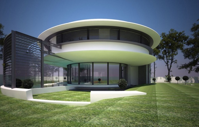 Архитекторский проект румынской студии дизайна Razvan Barsan + Partners.