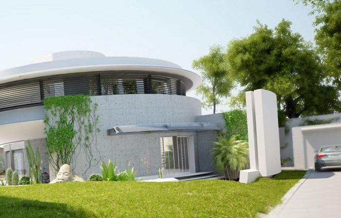 Дом-улитка: проект жилища с «зелеными» технологиями.
