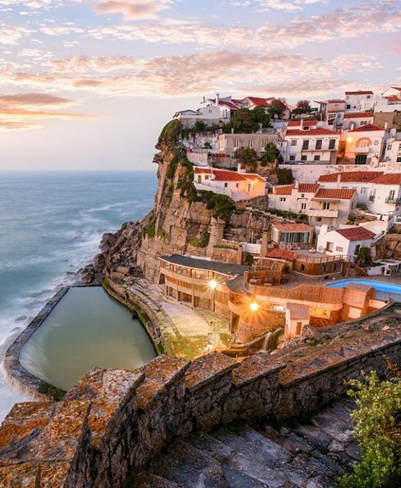 Azenhas Do Mar - «морская мельница» Португалии.