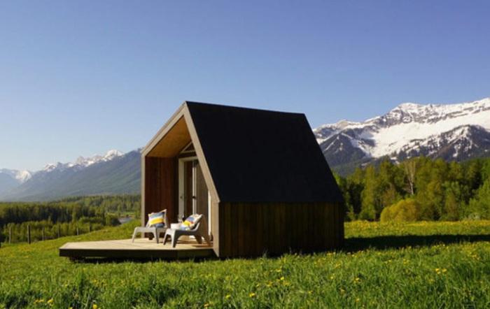 Архитекторский проект компании The Little Cabin Company.