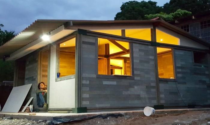 Дом, построенный за 5 дней.