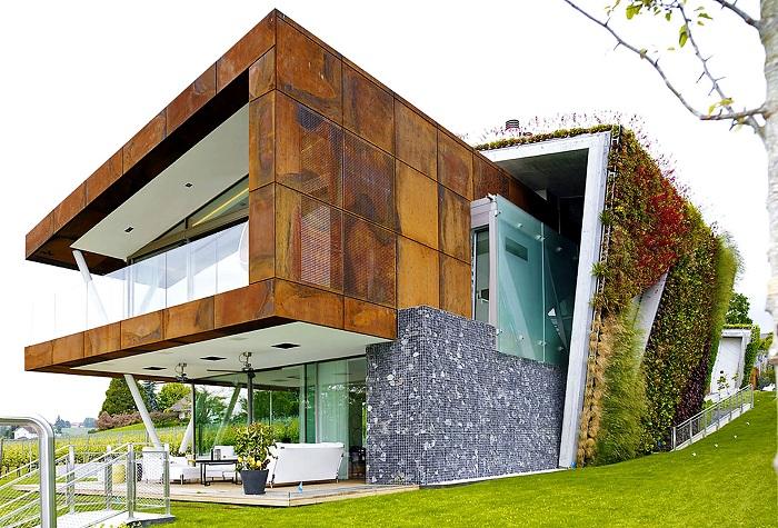Jewel Box Villa - «многослойная» эко-вилла.