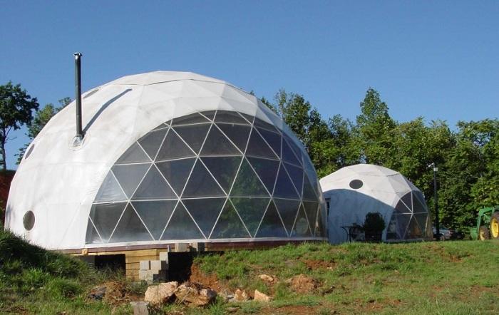 Купольные домики - функциональные постройки.