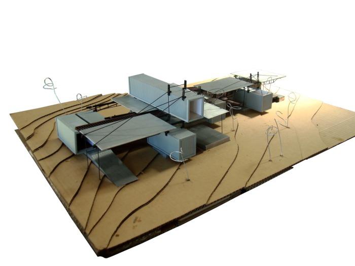 RDP House. Схема расположения контейнеров.