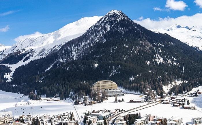 Отель, расположенный в Альпийских горах.