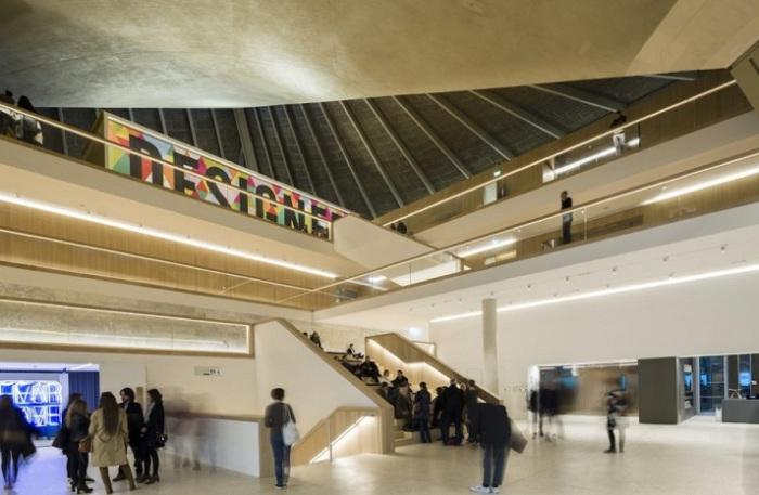 Design Museum. Вид изнутри.