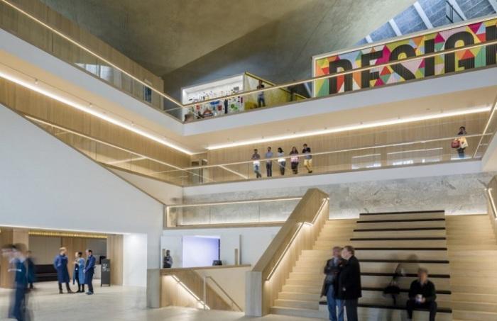 Design Museum. Атриум.