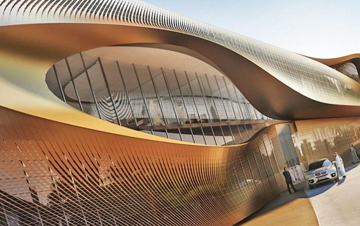 Urban Heritage Administration Center - будущий Центр управления городским наследием, расположенный в окрестностях Эр-Рияда (Саудовская Аравия).