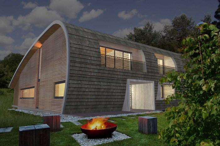 Будущий энергоэффективный особняк, который расположится на берегах Волги.