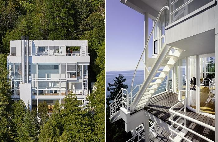 Douglas House - частный особняк, который был включен в список охраняемых архитектурных объектов США.