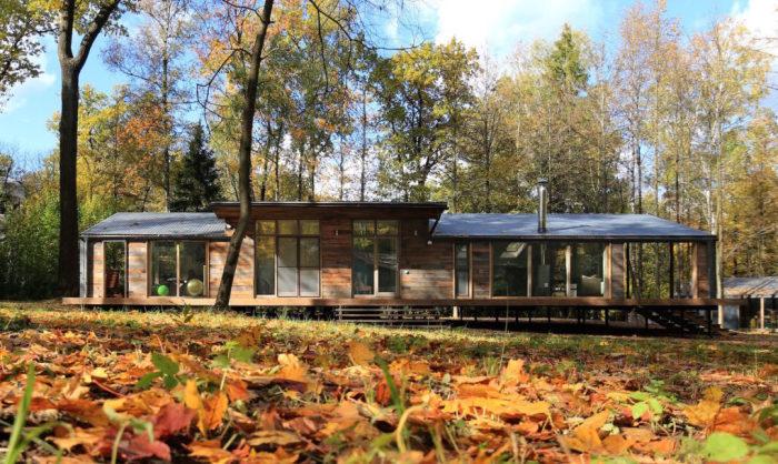 DublDom - коттедж в лесу.