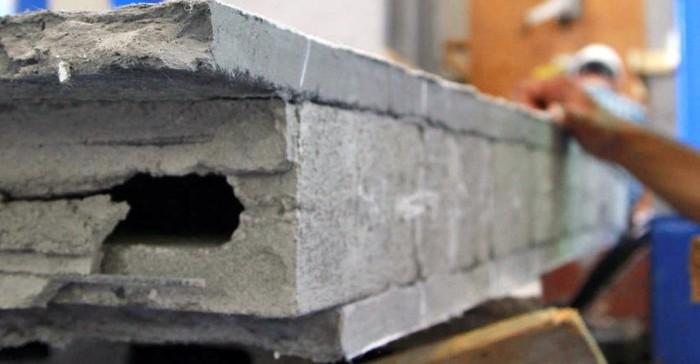 EDCC толщиной 10 мм нанесен на обычный бетон.