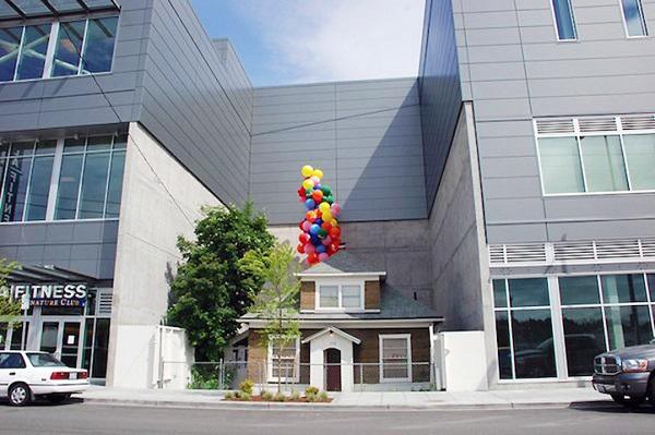 Прототип домика из мультфильма «Вверх».