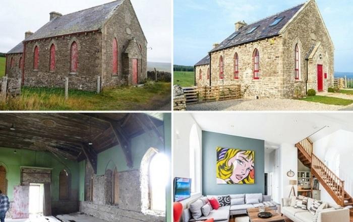 Церковь-дом:до и после реконструкции.