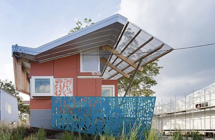 FLOAT House - дом-амфибия для благотворительной организации актера Брэда Питта.