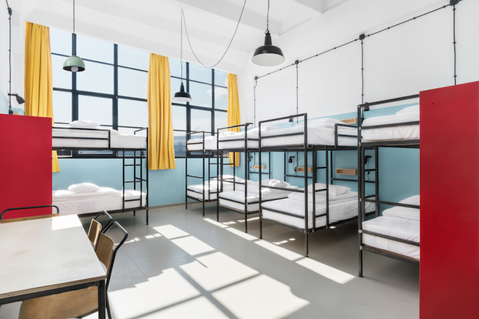 Fabrika Hostel & Suites. Номер хостела.