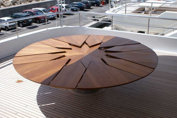 The David Fletcher Table - раздвижной стол.