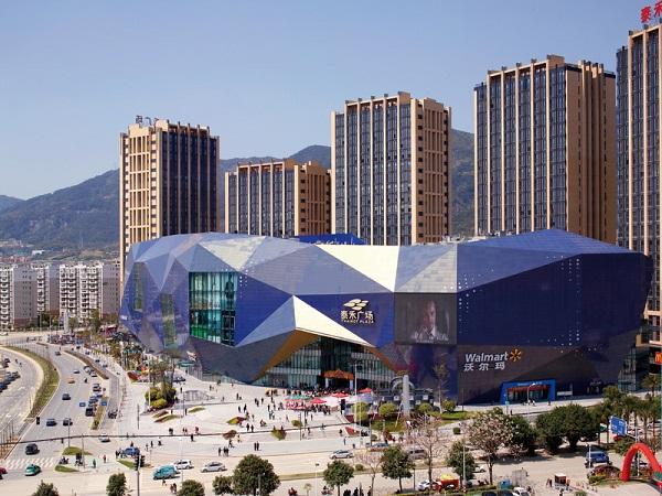 Китайский торговый центр Fuzhou Wusibei Thaihot Plaza.