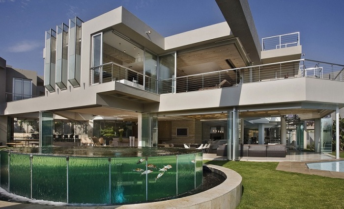 Glass House от Nico Van Der Meulen . | Фото: cdn.architecturendesign.net.