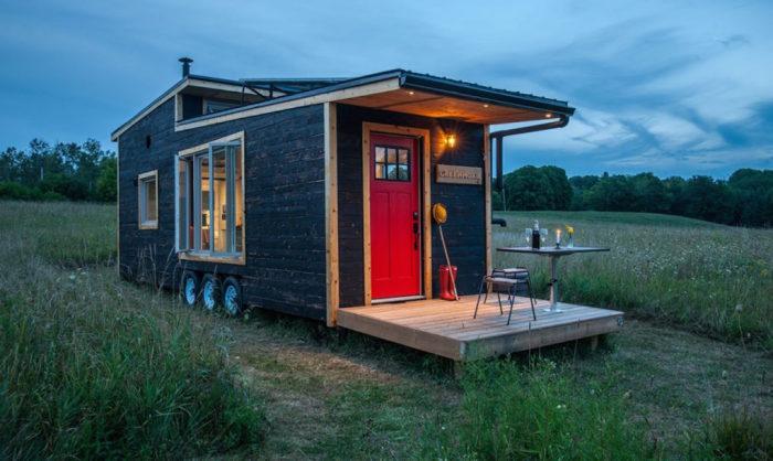 Мобильный дом Greenmoxie Tiny House.