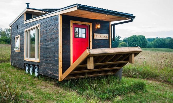 Greenmoxie Tiny House - домик на колесах, безопасный для окружающих.