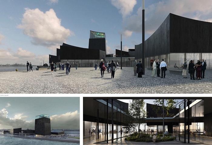 Проект фирмы-победителя Moreau Kusunoki Architectes.