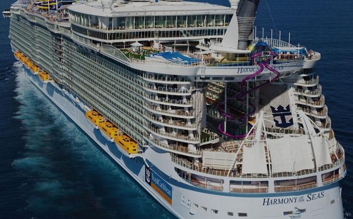 Harmony of the Seas - самый большой круизный лайнер в мире.