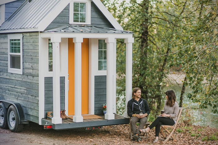 Micro-house - домик стоимостью $ 65000.