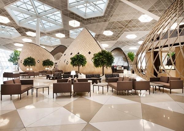 Новый терминал аэропорта в Баку.