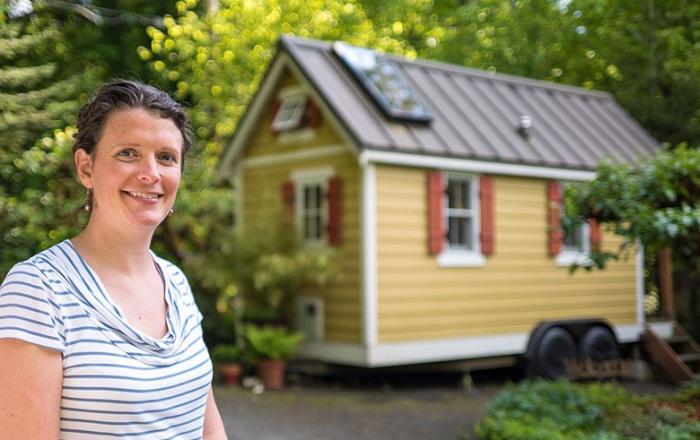 The Bayside Bungalow - домик на колесах площадью 10 кв. метров.